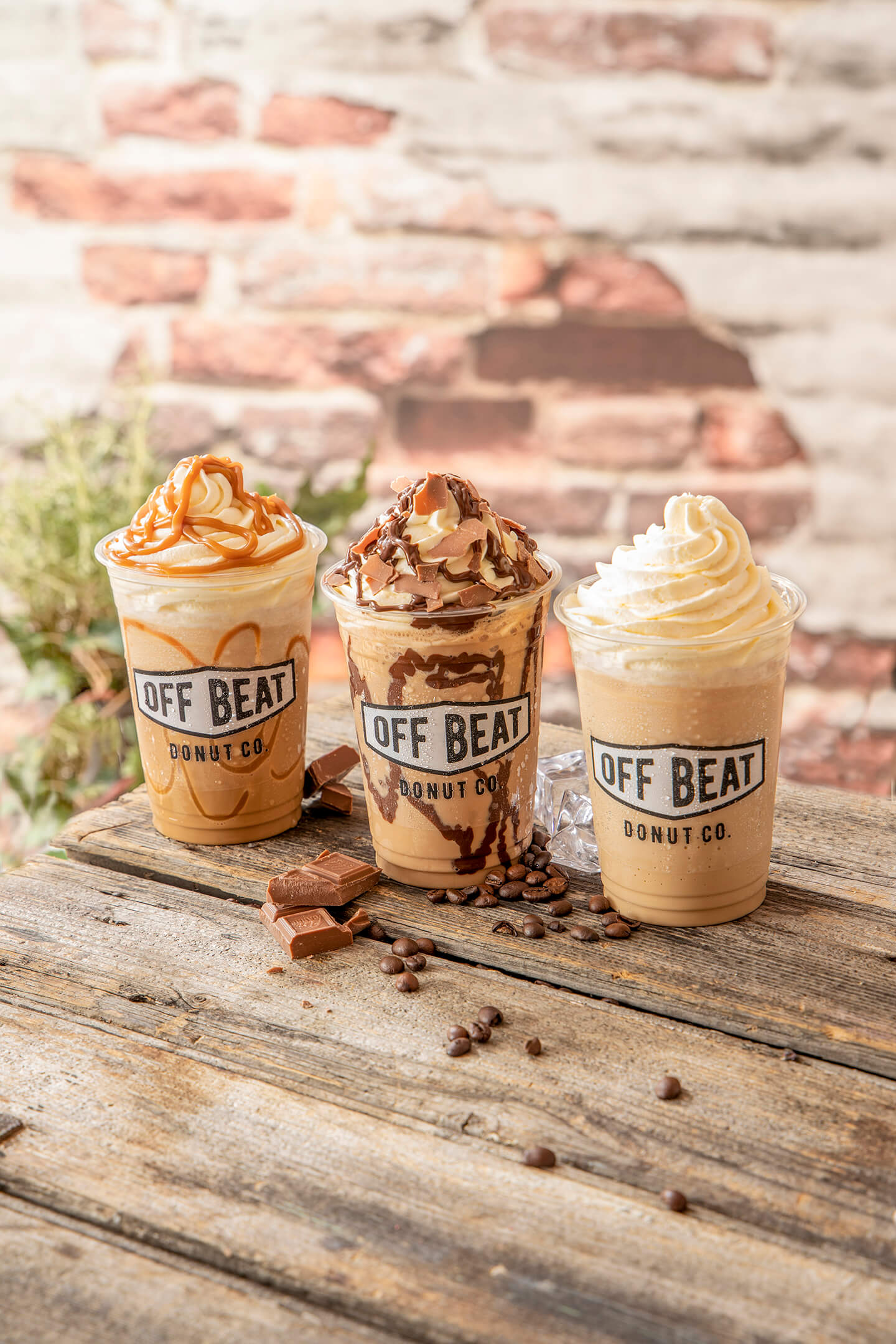 3 ice-coffees